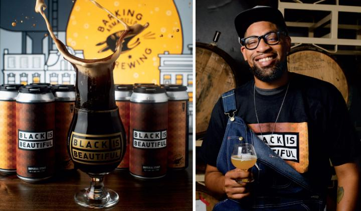 Marcus Baskerville  Nearly 1,200 Breweries are now serving a Black is Beautiful imperial stout with the proceeds benefiting Social Justice groups.