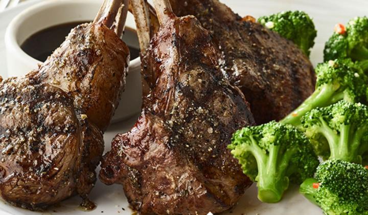 Carrabba's Italian Grill lamb chops.
