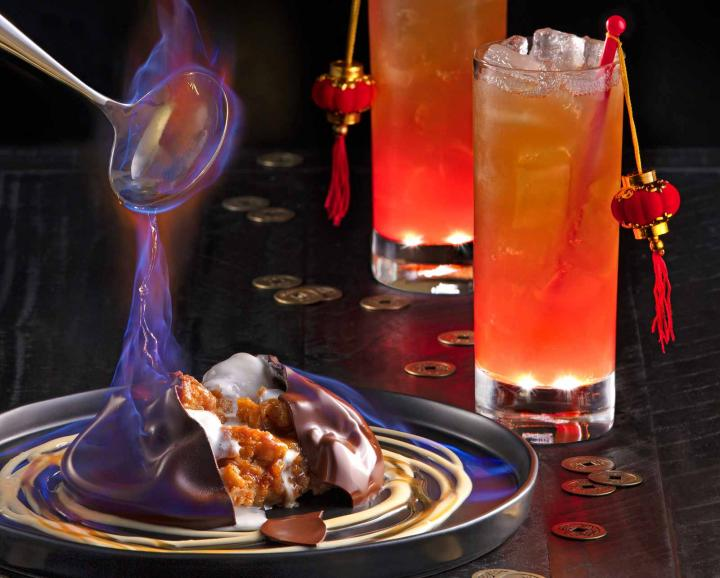 P.F. Chang's celebrates Lunar New Year with Fire & Ice dessert and Red Lantern cocktail.
