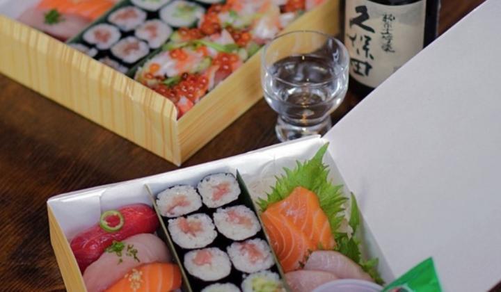 Robata JINYA sushi box.
