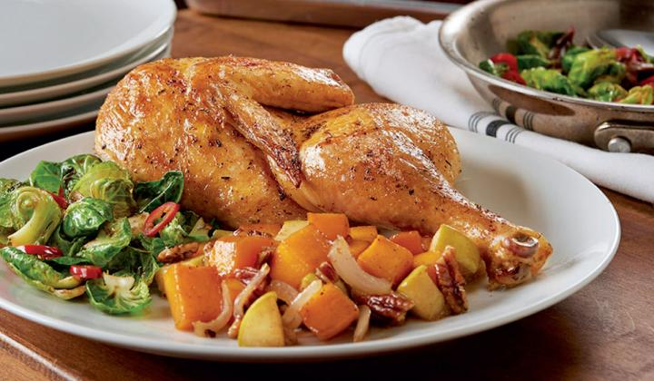 Made with Perdue Harvestland TenderReady Sous-Vide Style Chicken Halves
