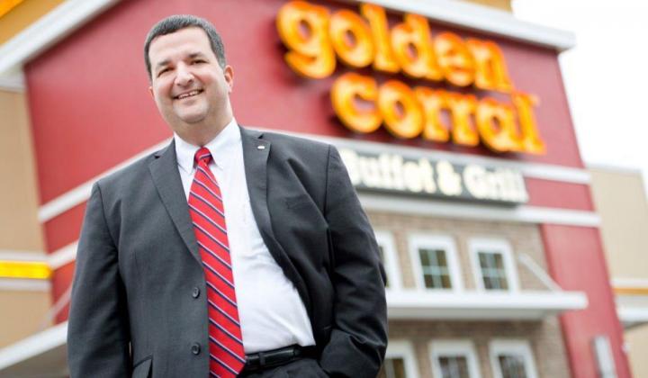 Golden Corral CEO Lance Trenary.