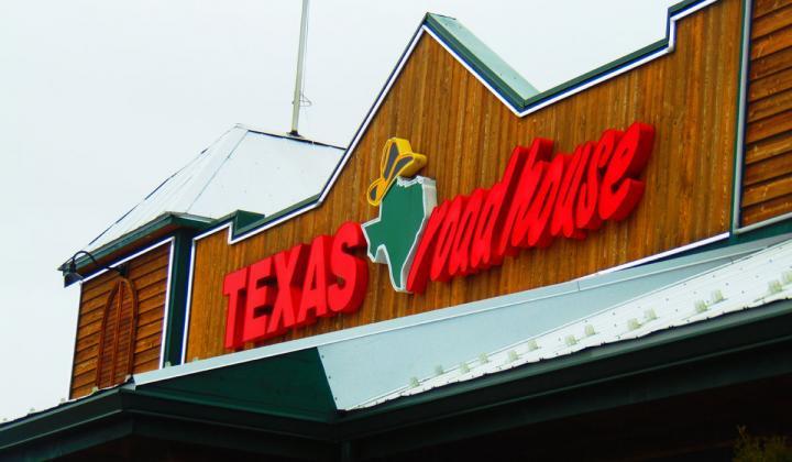 Texas Roadhouse exterior.