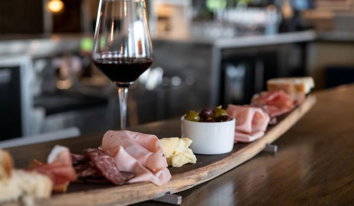 Lucca Osteria & Bar food.