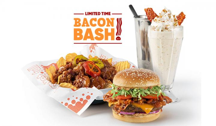 Red Robin bacon.