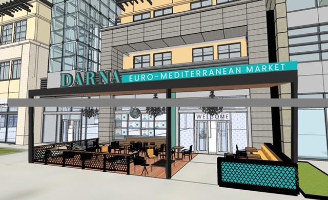 Rendering of Darna Euro-Mediterranean Market