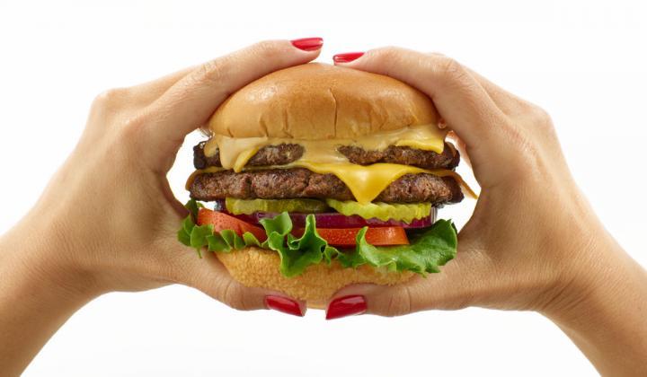 Smokey Bones burger experience.