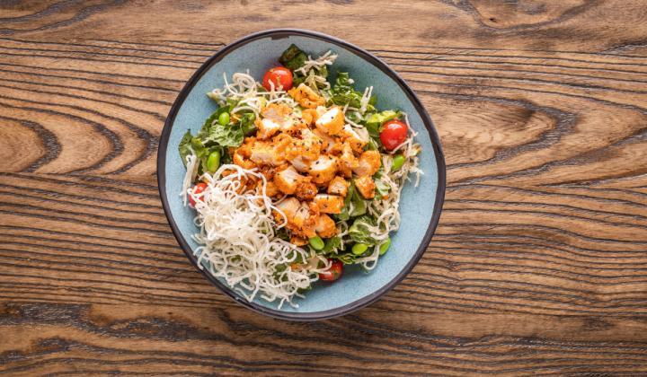 Wingers Restaurant & Alehouse salad.