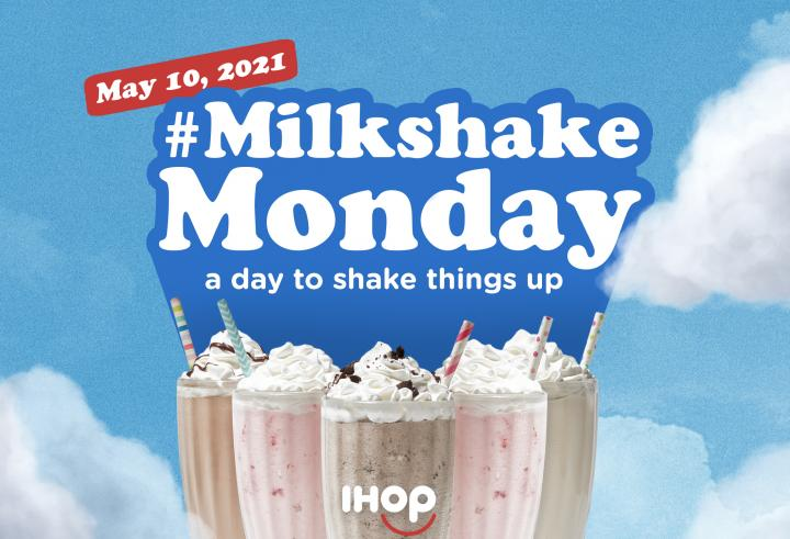 IHOP's milkshakes