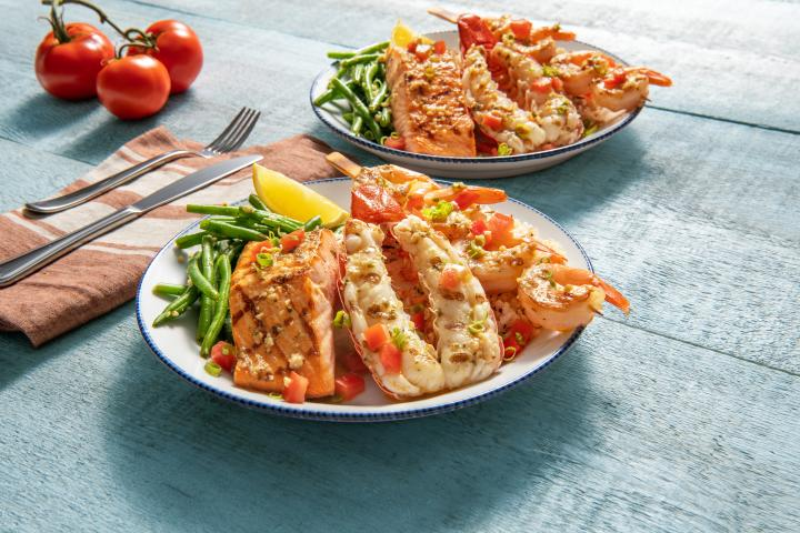Red Lobster food.