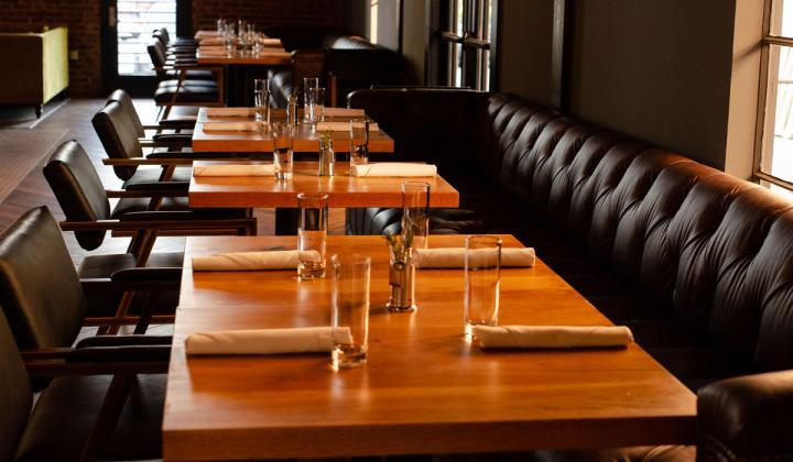 BOCADO Bar + Diner interior.