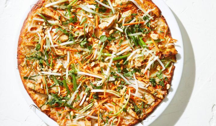 California Pizza Kitchen chick pea crust