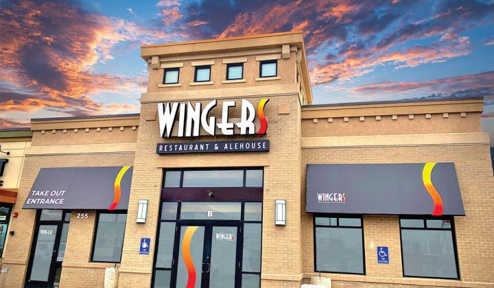 Wingers exterior building