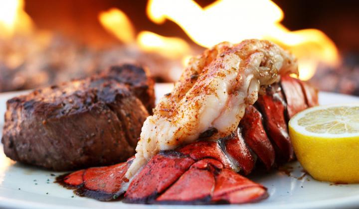 Cameron Mitchell Restaurants lobster.