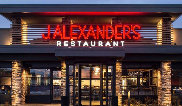 J. Alexander's exterior storefront.