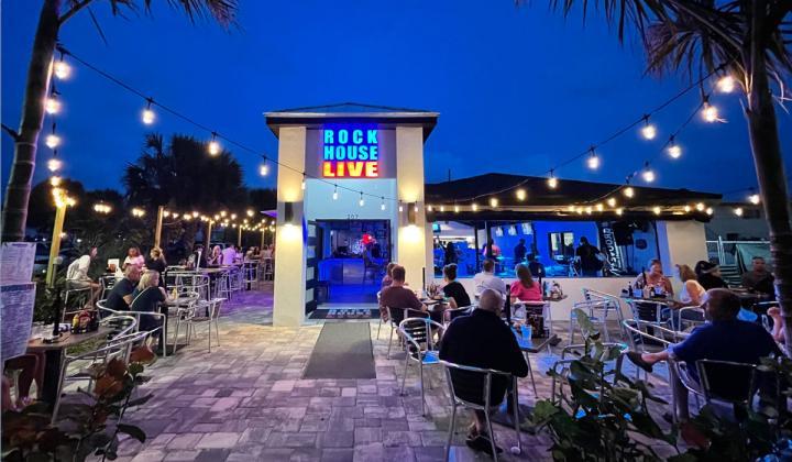 RockHouse Live exterior of restaurant.