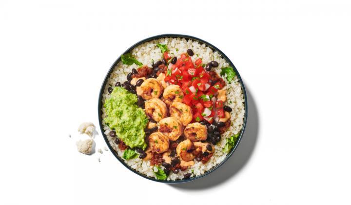 Rubio's Coastal Grill's cauliflower rice bowl