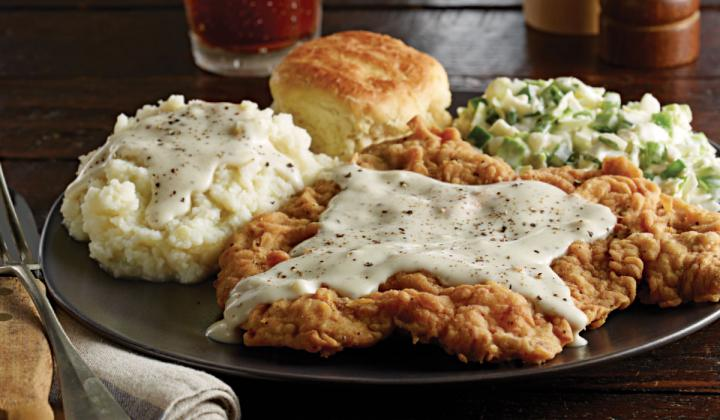 54th Street's Country-fried steak