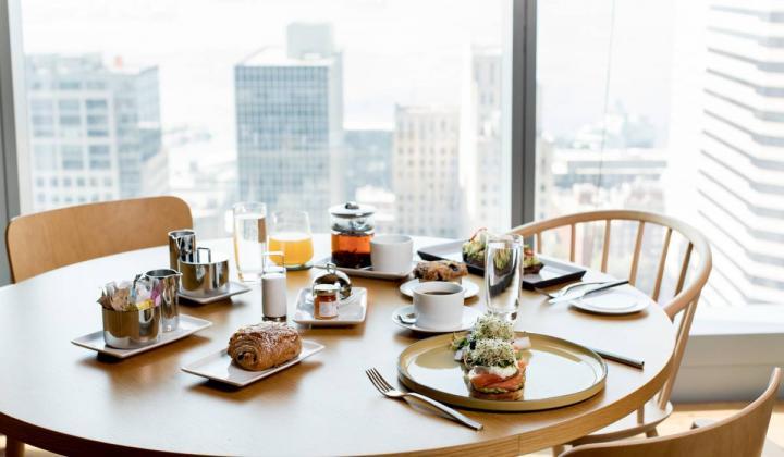 breakfast at Charlotte Restaurant & Lounge.