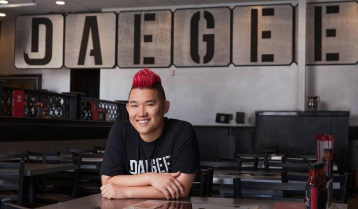 Dae Gee Korean BBQ CEO Joe Kim.