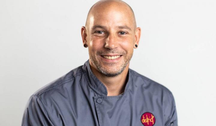 Chef Aaron Staudenmaier headshot.