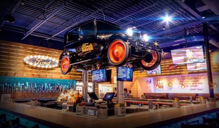 Ford's Garage interior.
