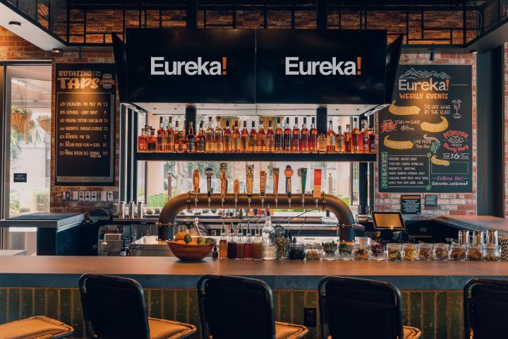 Eureka! bar.