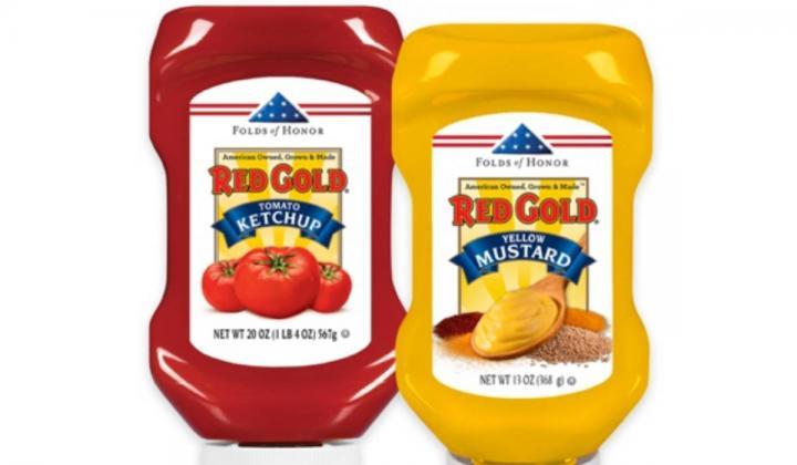 Red Gold Ketchup and Mustard