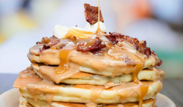 Snooze an A.M. Eatery pancakes.
