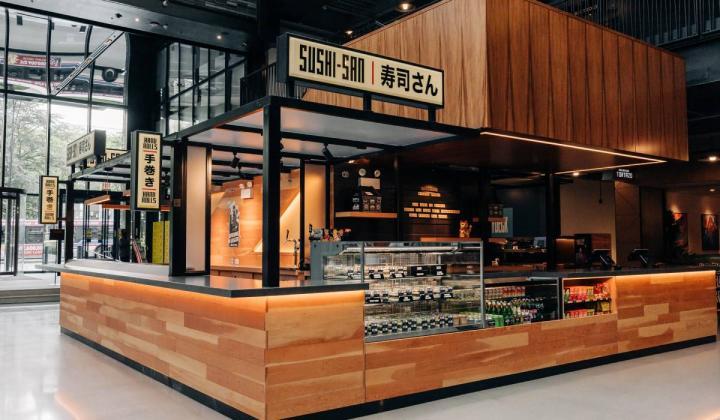 Sushi-san store.