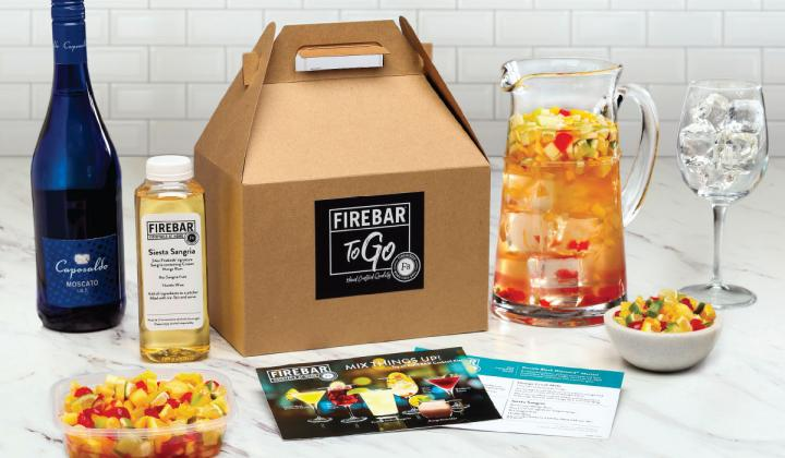 Firebirds' Firebar menu has also been adapted for to-go orders.