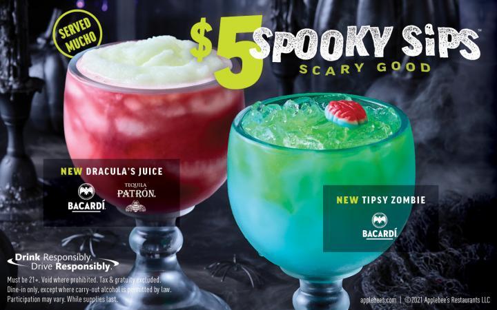 Applebee's drinks.