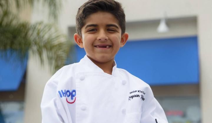 Kid Chef Rayaan