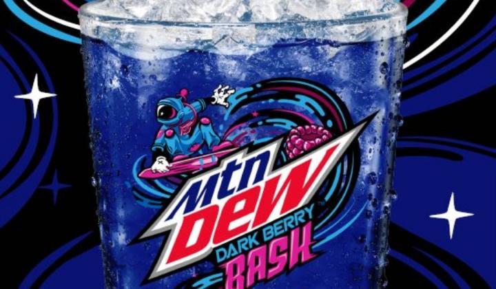MTN DEW Dark Berry Blast