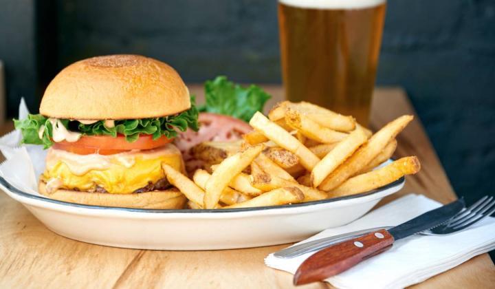 Black Tap burger.