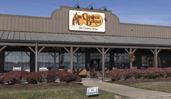 Cracker Barrel store.