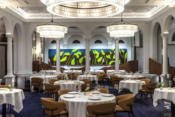 Restaurant Daniel interior.