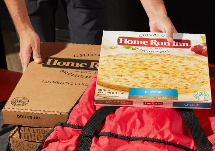 Home Run Inn frozen pizza.