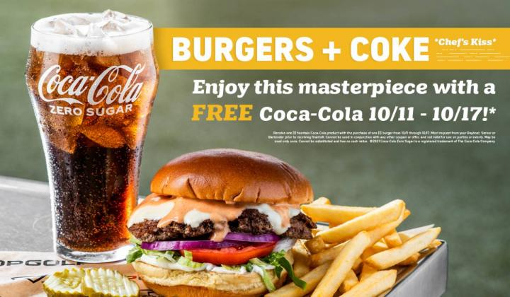 Topgolf Classic Burger.