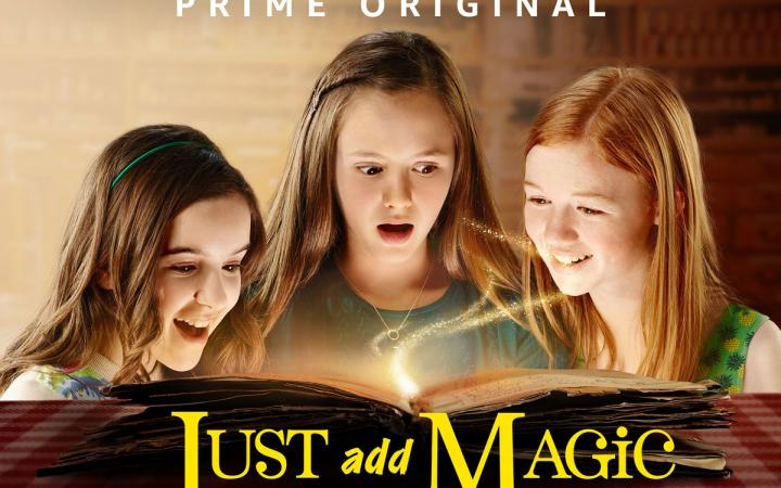 Just Add Magic is like Harry Potter meets American Girls meets Top Chef.