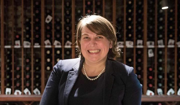 Brennan's wine director Braithe Tidwell
