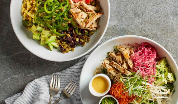 California Pizza Kitchen's new seasonal menu features special bowls and salads.