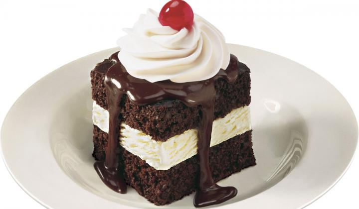 Shoney's is offering free Hot Fudge Cakes.