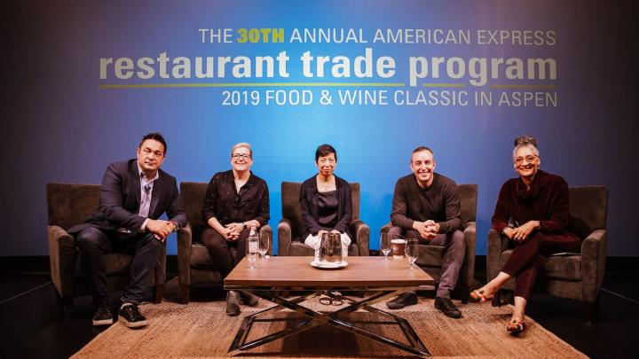 American Express Restaurant Trade Program panel at FOOD & WINE Classic