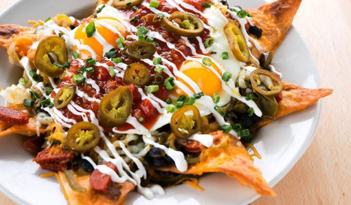 A plate of food at Metro Diner.