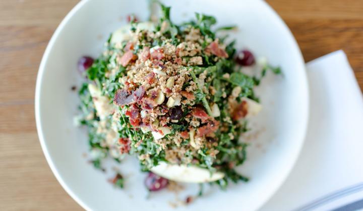 Kale salad at North Italia restaurant.