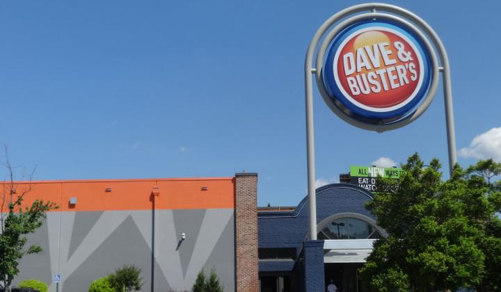 Dave & Buster's exterior in Georgia.