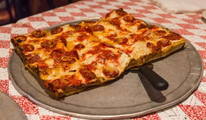 Buddy's Pizza could expand with new investment.