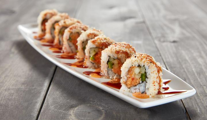 Crunchy Spicy Tuna Roll at Kona Grill.