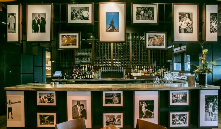 At Michael Jordan's Restaurant in Oak Brook, Illinois, more than 100 photos of the NBA legend hang on the walls. Jordan's commitment to excellence is the ethos behind its customer service.